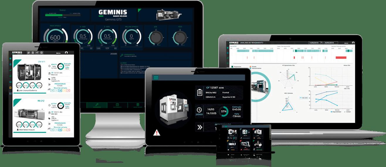 Lean Digital Manufacturing - Geminis Lathes