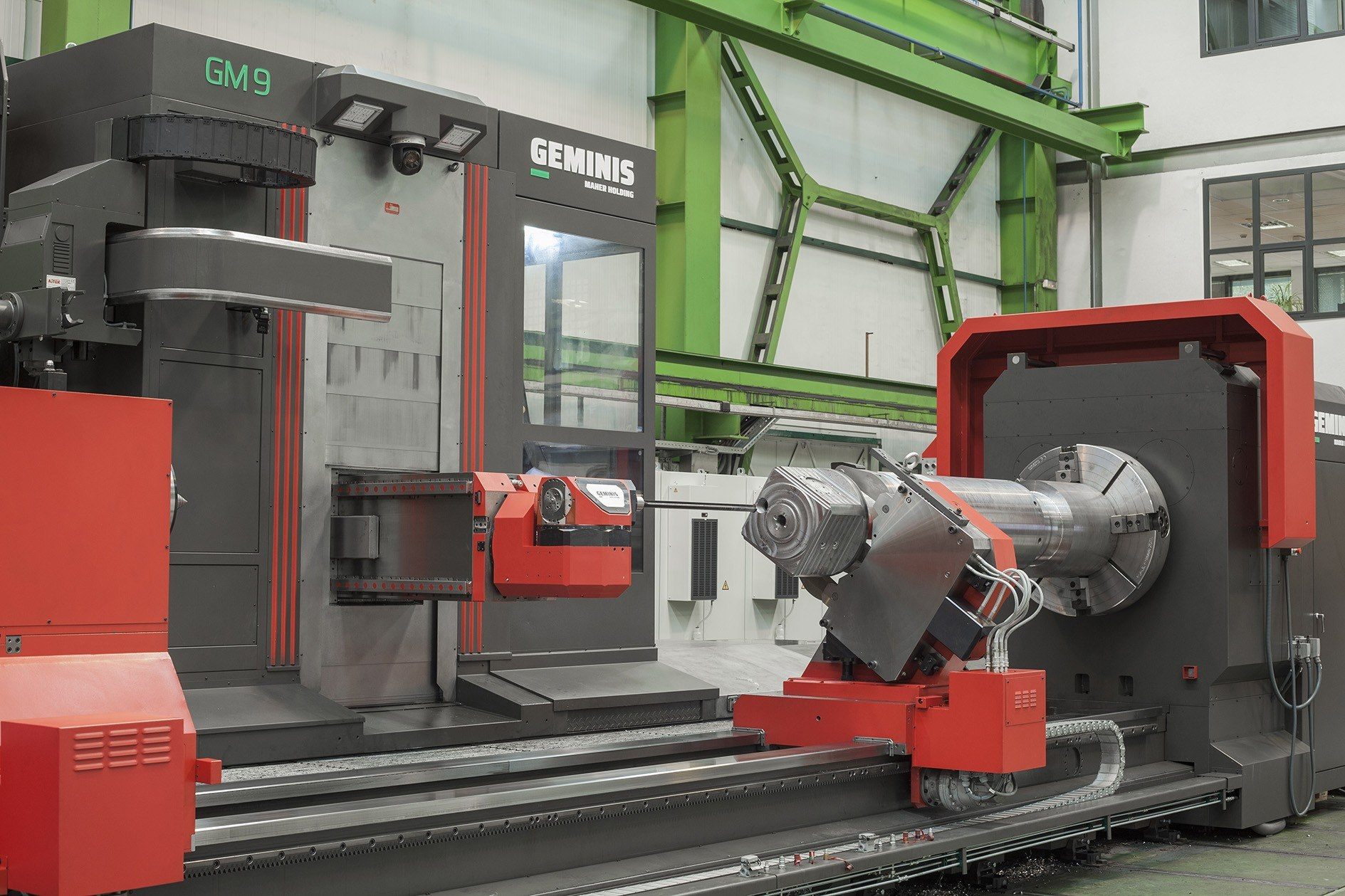 Multiprocess lathe gallery GM-9 - image 3 - Machine tool - Geminis Lathes
